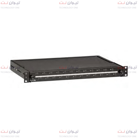 پچ‌پنل برندرکس Unloaded for 24 singlemode SC simplex-FPCC1SXSM24SC2