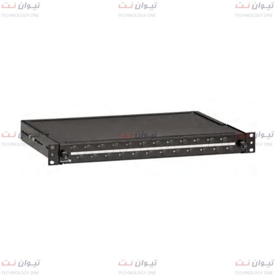 پچپنل برندرکس Unloaded for 24 singlemode lc quad-FPCC1SXSM96LC2