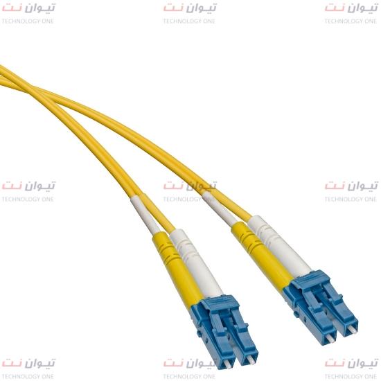 پچ کورد فیبر نوری برندرکس LC-LC داپلکس سینگل مود یا brand-rex LC-LC Duplex single mode patch cord-HOPLC008xxxLC203