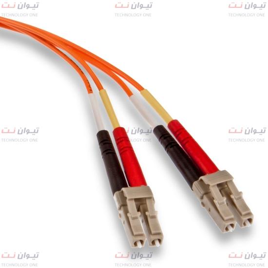 پچ کورد فیبر نوری برندرکس LC-LC داپلکس مالتی مود یا brand-rex LC-LC Duplex multi mode OM2 patch cord-HOPLC050xxxLC293