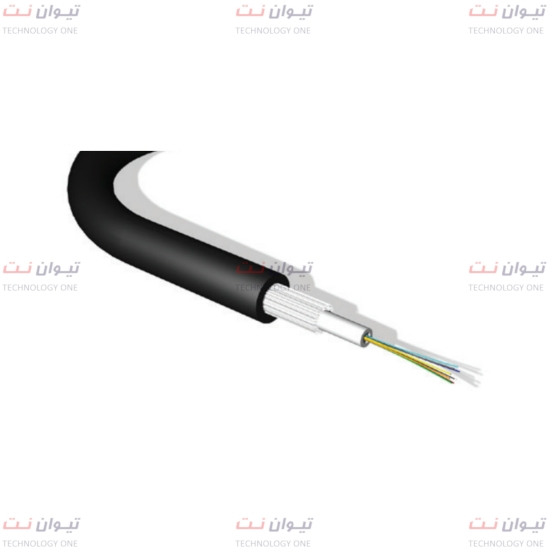 کابل برندرکس Glass yarn armoured مالتی‌مود OM2 یونیورسال یا brand-rex universal multi mode OM2 Glass yarn armoured fiber cable-GF050UNIxxRRLU